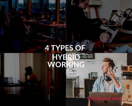 4-types-of-hybrid-working-Distributed-work-Askcody