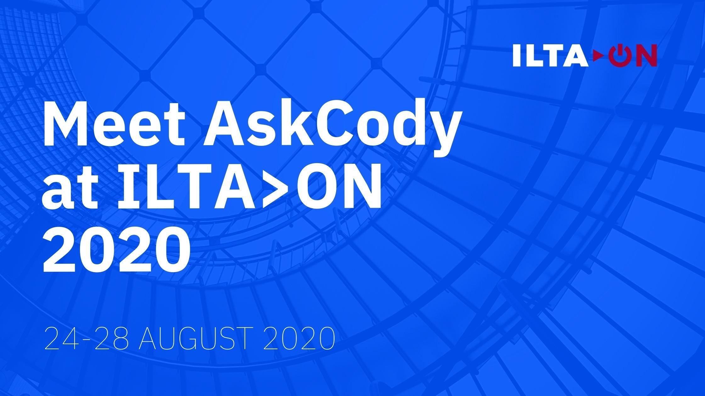 Meet AskCody at ILTA_ON 2020