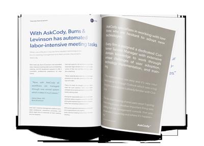 Burns&Levinson e-book case study
