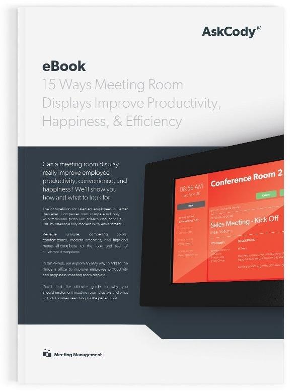 eBook-15-ways-meeting-room-displays improve productivity