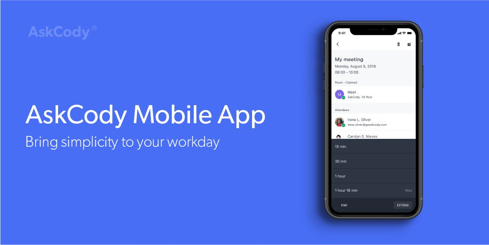 The AskCody Mobile App - Bring simplicity to your workday