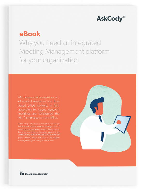E-book - why you need an integrated meeting management platform