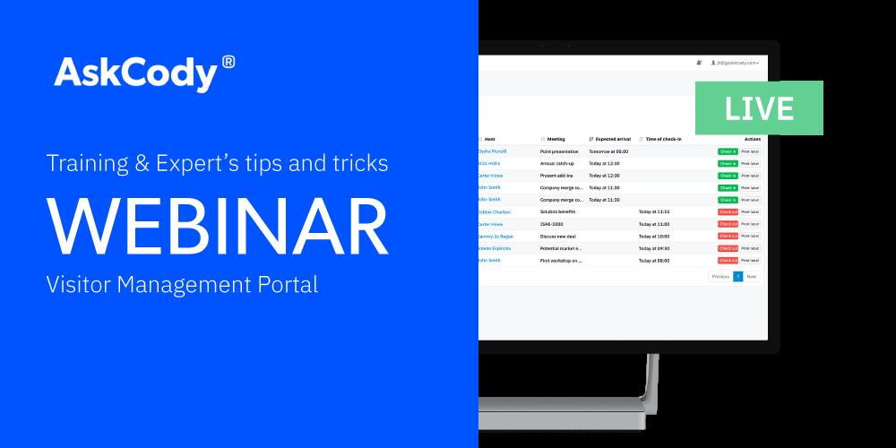 webinar-Visitor-Management-Portal